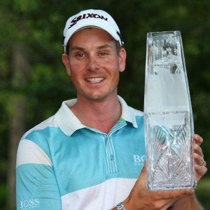 Henrik Stenson nach dem Gewinn der Players Championship 2009. (Foto: Getty)