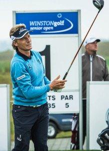 Haarscharf am sechsten Saisonsieg vorbei: Bernhard Langer. Foto: WINSTONgolf Senior Open