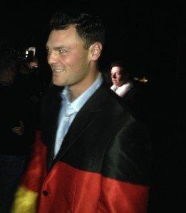 Martin Kaymer im Deutschland-Jacket (Foto: Golf Post)