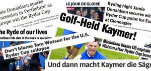Die Stimmen in den internationalen Medien fallen nach dem Sieg Europas im Ryder Cup ganz unterschiedlich aus.
