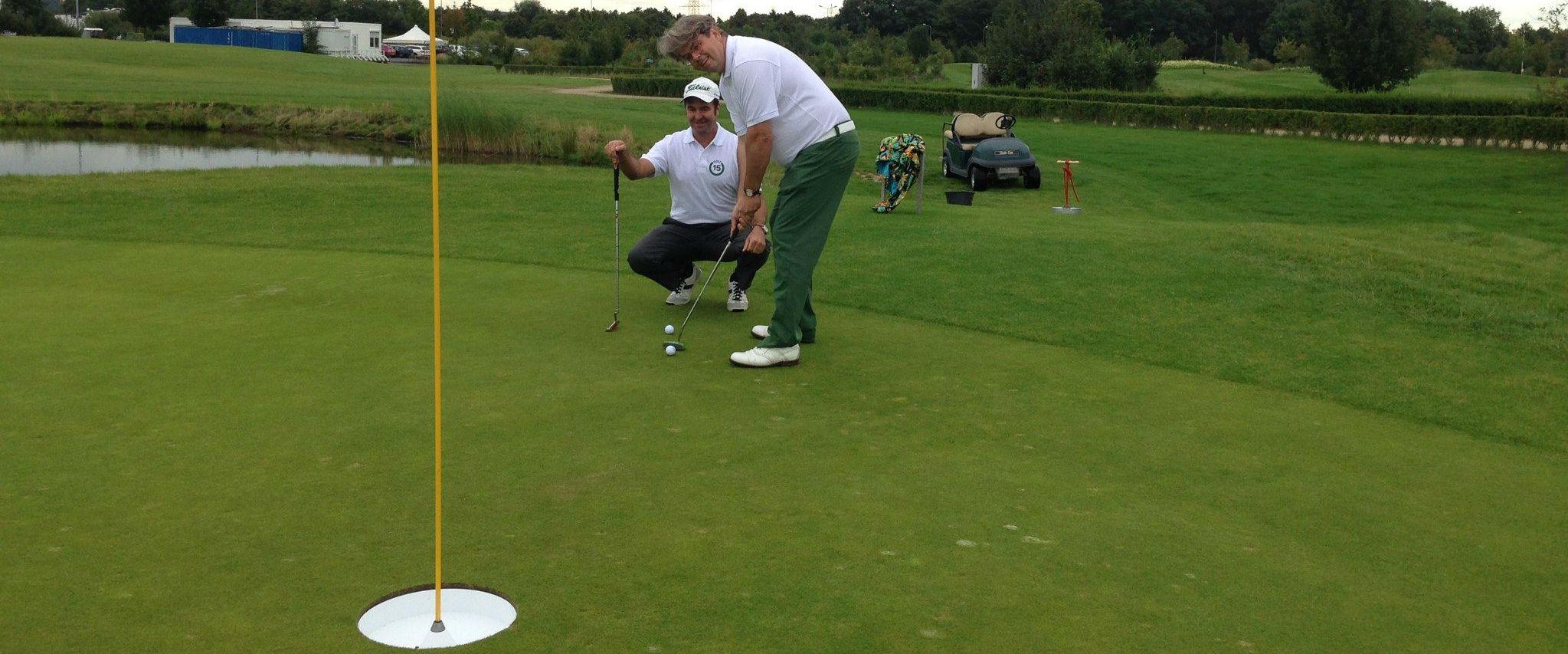 Tap-In zum Birdie und ab zum nächsten Loch: Golf15 macht Spaß, und das ist die Hauptsache. (Foto: Golf Post)