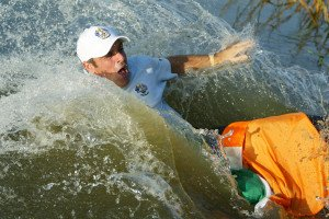 Ryder Cup: Das Rookie-Bad Paul McGinleys. (Foto: Getty)