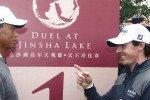 Arrogant oder realistisch? Rory McIlroy eckt mit seiner Aussage zu Phil Mickelson und Tiger Woods an. (Foto: Getty)