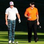 Jamie Donaldson (l) und Stephen Gallacher. (Foto: Getty)