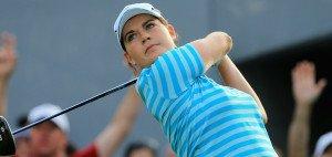 Caroline Masson macht der derzeitigen Nummer eins im deutschen Golf, Sandra Gal, momentan mächtig Druck. (Foto: Getty)