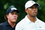 Tiger Woods und Phil Mickelson gehören zu den Top-Ten der Forbesrangliste der wertvollsten Sportlermarken der Welt. (Foto: Getty)