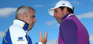 Paul McGinley (li) und Jose Maria Olazabal waren beide schon Kapitän beim Ryder Cup. Wer wird der nächste? (Foto: Getty)
