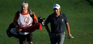 Portugal-Masters-Sieger Alexander Levy mit seinem Caddie Brian Bo Martin. (Foto: Getty)