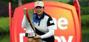 Shanshan Feng sicherte sich ihren ersten Saisonsieg bei der Sime Darby LPGA Malaysia. (Foto: Getty)
