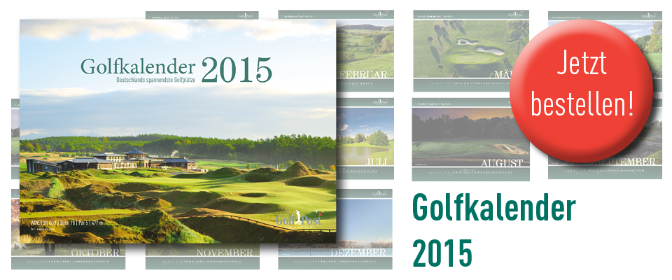 Der Golfkalender 2015