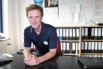Dominik Müller - Nachwuchstrainer beim Hamburger Golf Verband. (Foto: I. Kuhlmann)