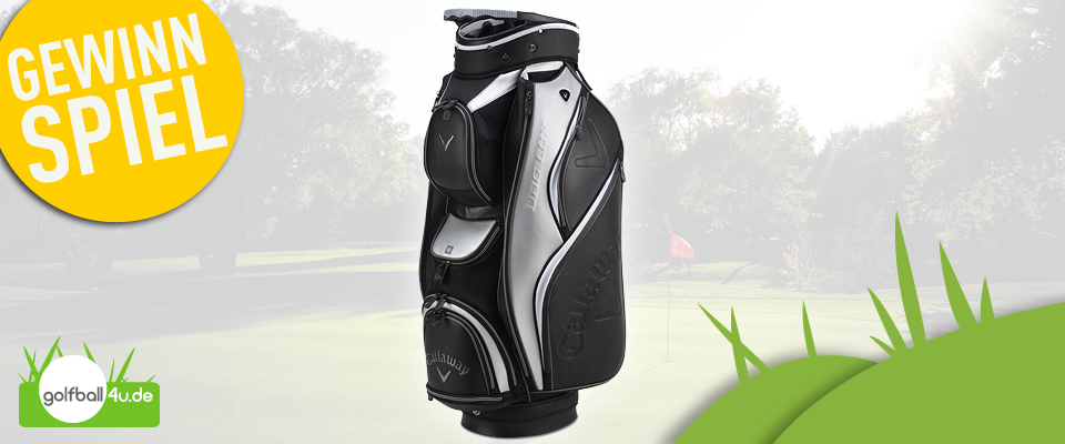Gewinnspiel mit golfball4u: Callaway Bag