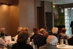 Das DGV-Hearing im Kosaido Golfclub in Düsseldorf. Die Arbeitsgruppen stellen ihre Beschlussentwürfe vor, über die am 29. November alle Clubs abstimmen werden. (Foto: Golf Post)