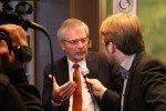 DGV-Präsident Hans-Joachim Nothelfer im Interview nach dem DGV-Hearing in Düsseldorf einen Monat vor dem großen Verbandstag 2014. (Foto: Golf Post)