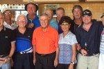 Dom DeBonis mit seinen Freunden nach einer erfolgreichen Golfwoche (Foto: Facebook/Dom DeBonis)