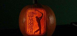 Jedes Jahr werden in der pgatour.com-Redaktion Kürbisse geschnitzt. In diesem Jahr werden Kürbisse zu Golfstars. (Foto: pgatour.com/video)