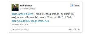 Durch diesen Tweet besiegelte Ted Bishop seine Entlassung.