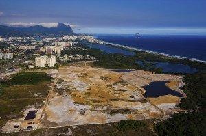 Hier soll der neue Golfplatz für Olympia 2016 entstehen. Etwa 60-70 Prozent des Platzes sollen bereits fertiggestellt sein. (Foto: Getty)