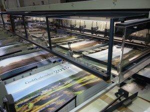 Frisch aus der Druckerei: der neue Golfkalender 2015.