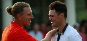 Marcel Siem und Martin Kaymer spielten am zweiten Tag der World Tour Championship beide starke Runden. (Foto: Getty)