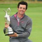 Rory McIlroy nach dem Sieg bei der Open Championship. (Foto: Getty)