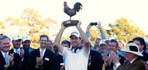 Nick Taylor gewann bei der Sanderson Farms Championship seinen ersten Titel auf der PGA Tour. (Foto: Getty)