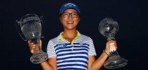 Lydia Ko gewinnt das Saisonfinale der LPGA Tour, die CME Group Tour Championship. (Foto: Getty)