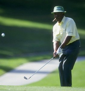 Charlie Sifford gewann 1967 als erster afroamerikanischer Golfer ein PGA-Tour-Turnier.