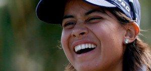 Julieta Granada beherrscht zur Zeit die CME Group Tour Championship. Aber auch Sandra Gal steht nicht schlecht da. (Foto: Getty)
