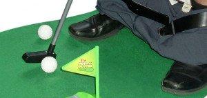 Das ultimative Golfset für die Toilette und ein ideales Weihnachtsgeschenk.