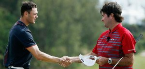 Zwei der drei besten Handicaps auf der PGA Tour: Martin Kaymer (li) und Bubba Watson. (Foto: Getty)