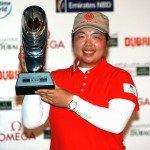 Shanshan Feng heißt die strahlende Siegerin des Dubai Ladies Masters. (Foto: Getty)