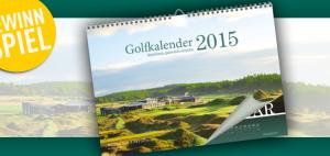 Gewinnspiel Golfkalender