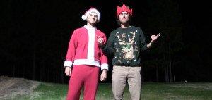 Die Bryan Bros machen den Golfsport wieder um einiges trickreicher und zeigen, dass auch der Weihnachtsmann golfen kann.