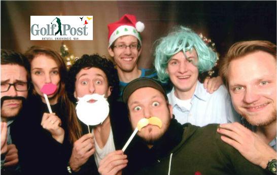 Das Golf-Post-Team wünscht frohe Weihnachten und einen guten Rutsch!