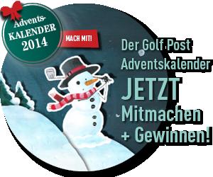 Hier mitmachen beim Golf Post Adventskalender 2014 (Foto: Golf Post)