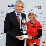 Siegerin Phatlum beim Omega Dubai Ladies Masters, 2013. (Foto: Getty)
