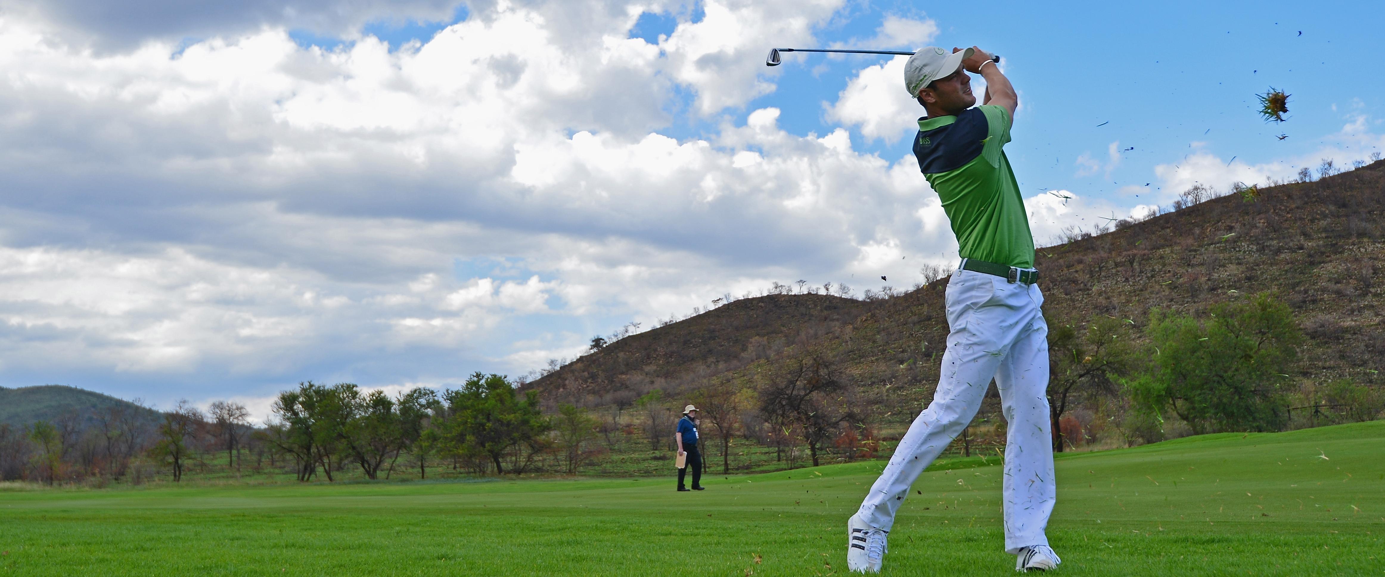Martin Kaymer bei der Nedbank Golf Challenge im südafrikanischen Sun City 2013.