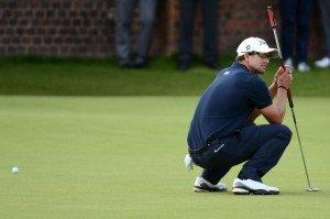 Adam Scott bei der Open Championship 2012; zwei Majors später hat er das Masters gewonnen. (Foto: Getty)