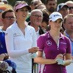 Sandra Gal und Caroline Masson wollen unbedingt ins Solheim-Cup-Team. (Foto: Getty)