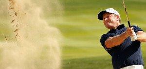 """Dem Waliser Jamie Donaldson gelang beim Ryder Cup der Schlag, der jetzt als """"Schlag des Jahres"""" gewählt wurde."""
