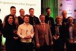 Alle Preisträger des New Golf Award 2015 in Stuttgart nach der Verleihung. (Foto: Golf Post)