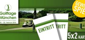Gewinnspiel: 5x2 Karten für die Golftage München gewinnen!