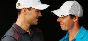 Martin Kaymer und Rory McIlroy gewannen 2014 zusammen drei der vier Majors. Bei der Omega Dubai Desert Classic gehen sie an den ersten beiden Tagen gemeinsam auf die Runde.