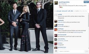 Hier kündigte Paulina Gretzky an, dass sie gemeinsam mit Dustin Johnson einen Jungen erwartet. Der Sohn des Paares ist nun seit Montag auf der Welt. (Foto: Instagram)