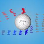Der Ball fliegt mit Back-Spin von links nach rechts - oben ist der Druck geringer. (Foto: Youtube)