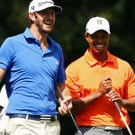Dustin Johnson (l) und Tiger Woods. (Foto: Getty)
