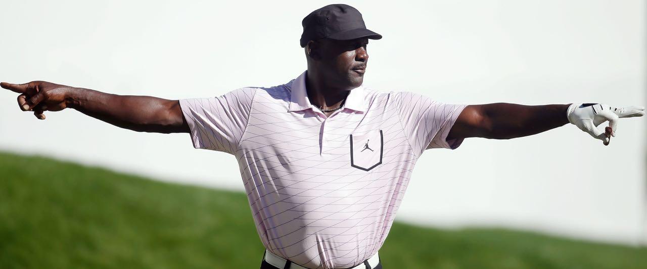 Michael Jordan ist leidenschaftlicher Golfer. Nun plant der Ex-NBA-Spieler den Bau eines eigenen Platzes. (Foto: Getty)