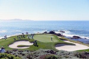 Vor einer traumhaften Kulisse durften die Pros der PGA Tour bei der Pebble Beach National Pro-Am antreten. (Foto: Getty)