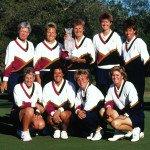 Die ersten Siegerinnen des Solheim Cups 1990: Team USA. (Foto: Getty)